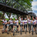 Join the Bicycle Ride to Commemorate ANZAC Day  at the River Kwai, Thailand