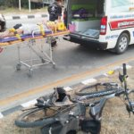 Volunteer English Teacher hit by car While Riding Her Bicycle in Mae Sod Thailand
